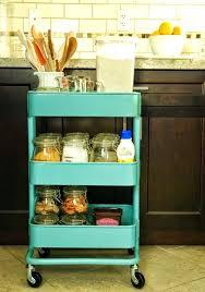 Kitchen Cart Storage Storage Kitchen Rolling Utility Cart Kitchen
