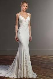 Illusion Racerback Wedding Dress with High Neck