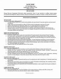 Human Resource Manager Resume Beautiful Examples Resources Assistant Free For Samples 21