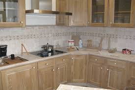 modele de cuisine equipee cuisine équipée bois châtaignier modèle contemporain cér flickr