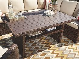 Ashley Salceda Outdoor Multi Use Table P451 625 Home Appliances