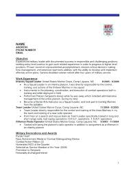 Delightful Decoration How To Add Military Experience A Resume Veteran