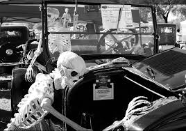100 Ttt Truck Stop Tucson Az Halloween Fun Whos Older The Car Or The Skeleton Classic