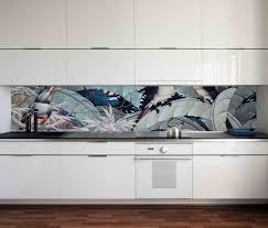 küchenrückwand fliesenspiegel spritzschutz skyline flugzeug