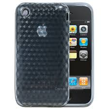 Clear Geometric Pattern Soft Flexible Gel Case Skin Cover for