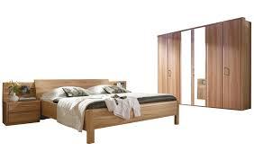 schlafzimmer in kernbuche furniert inkl doppelbett