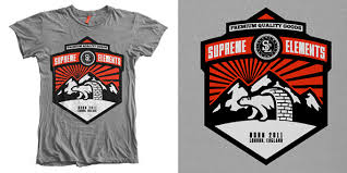 Supreme Elements T Shirt Design Mintees Printing
