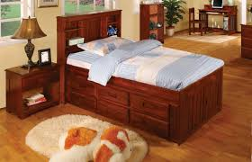 Amazon Twin Captains Bed Bookcase with 6 Drawers Desk Hutch