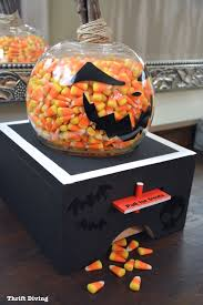 Halloween Candy Dish With Lid by How To Make A Diy Candy Dispenser For Halloween