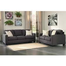 Makonnen Charcoal Sofa Loveseat by Rent To Own Living Room Sets For Your Home Rent A Center