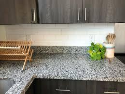 Subway Tile Backsplash For Kitchen Create A Faux Subway Tile Backsplash With Your Cricut