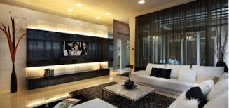 Stunning Modern Apartment Living Room Design With Good Looking Cozy Luxury