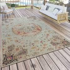 flachgewebe teppich pinkert in türkis