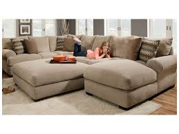 Jennifer Convertibles Sofa With Chaise by Furniture Sectional Sofa 2 Recliners England Sectional Sofa 7300