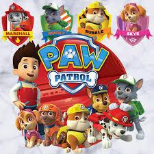 kibi paw patrol wandtattoo schlafzimmer jungen mädchen große