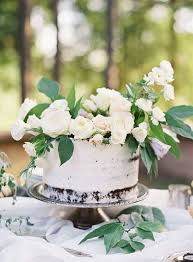 Rustic White Rose Topper