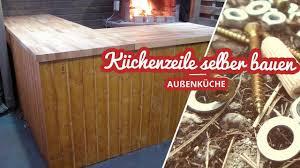 außenküche küchenzeile selber bauen selfmadekanal
