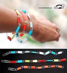 Paper Clip Bracelet Tutorial