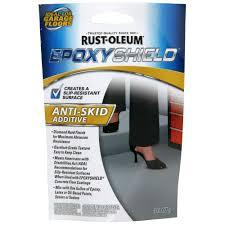 Seal Krete Floor Tex Home Depot by Rust Oleum Epoxyshield 3 4 Oz Antiskid Additive Case Of 8