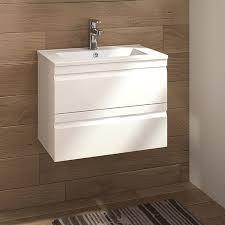 allibert badmöbel set accent 60 cm 2 tlg weiß glänzend