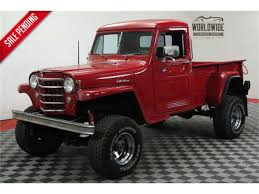 100 Willys Jeep Truck For Sale 1952 For ClassicCarscom CC1075987