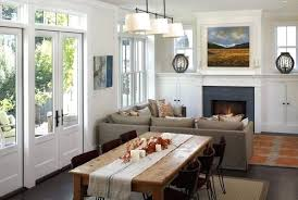 Living Room With Dining Small Traditional Combination By Artistic Designs For