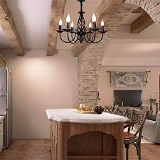 antik pendelleuchte schatten rustikale französische klassische aristokratische anhänger kerze kronleuchter landhausstil