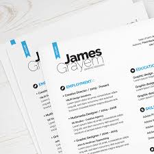 Resume CV Template Cover Letter Only Graphic Design
