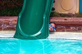 Used Pool Slide Re Refinishing Restoring A Fiberglass Pool Slide