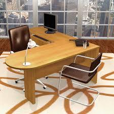 Bestar U Shaped Desks by Bestar Embassy L Shaped Desk With Peninsula