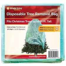 Simple Living Innovations Disposable Christmas Tree Trash Bag