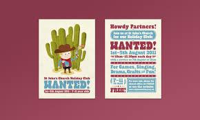 St Johns Church Kids Illustration Flyer Design