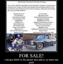 C10 Is FOR SALE! Top Truck At SEMA... - KC's Paint Shop: Hot Rods ...