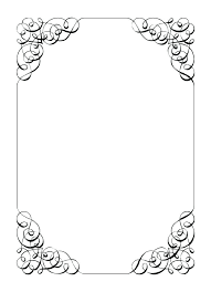 Paper Borders Design Border Designs For Chart On Decorative Ideal Addition