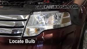 headlight change 2008 2009 ford taurus x 2008 ford taurus x