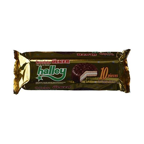 Halley Chocolate Cookies with Marshmallow - 300g