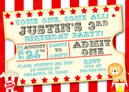 Carnival Ticket Invitation Template Blank Tickets Images Of Templates Photo Gallery On Website