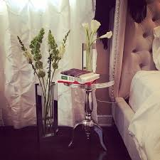 Our Jameson Bed Alu Accent Table And Positivo Vases Are Gorgeous Touches In
