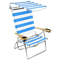 Beach Chair With Canopy & Image Is Loading Adjustable ...