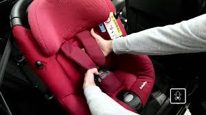 fixation siege auto bebe confort bébé confort axissfix vidéo d installation