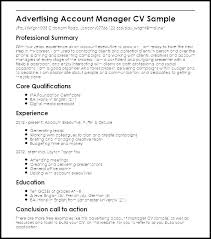Account Executive Sample Resume Management