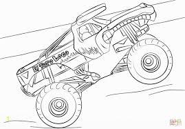 100 How To Draw A Monster Truck Step By Step Coloring Pages S El Ro Loco Page Best