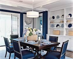 Blue Beach Style Dining Room Coastal Ideas