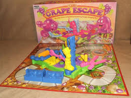 The Grape Escape By Parker Boxed And Complete Apart From Play Doh Vintage 1992