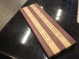 Introduction Cribbage Board Jig For A Drill Press