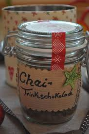 geschenke aus meiner küche chai trinkschokolade
