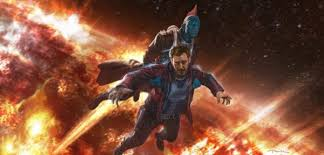 Yondu Saves Star Lord In Guardians Of The Galaxy Vol 2 Concept Art
