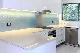 5 Ways To Make Splashbacks A Kitchen Feature Waterart Pertaining Patterned Glass For Kitchens