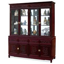 Oak Dining Room Hutch And Buffet Amazon Com Acme China Cabinet