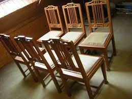 6 alte stühle eiche massiv esszimmer stühle guter zustand antike